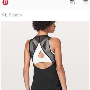 Lulu lemon for the run tank